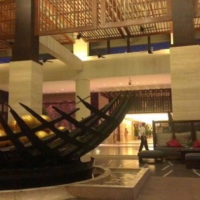 Photo taken at HowardJohnson Resort Sanya Bay by Anna S. on 8/30/2012