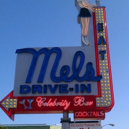 Photo taken at Mel's Drive-In by Scott P. on 5/17/2012