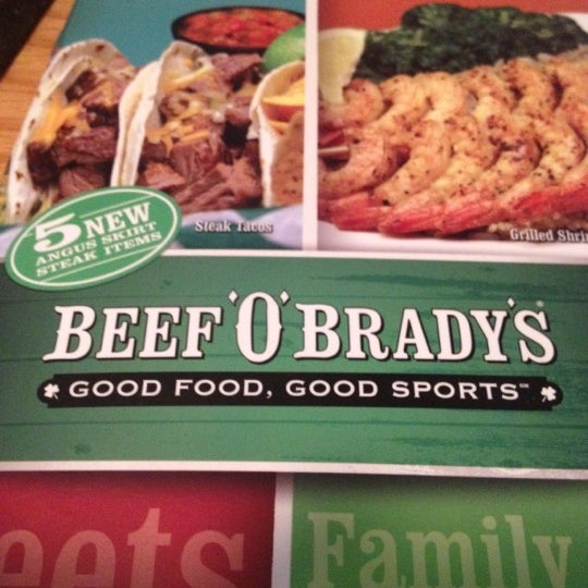 Beef o brady's coupons
