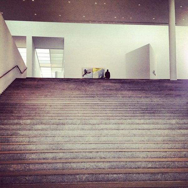 Photo taken at Pinakothek der Moderne by Rhinover on 5/22/2012