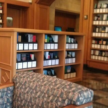 Photo taken at Doheny Memorial Library (DML) by Christopher R. on 3/2/2012