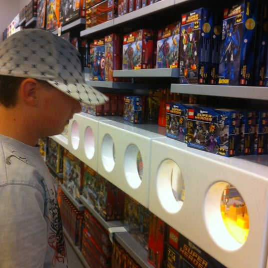 Photo taken at The LEGO Store by Penny M. on 8/23/2012
