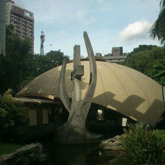 Photo taken at Sto. Niño de Paz Community Chapel by Loulou E. on 3/11/2012