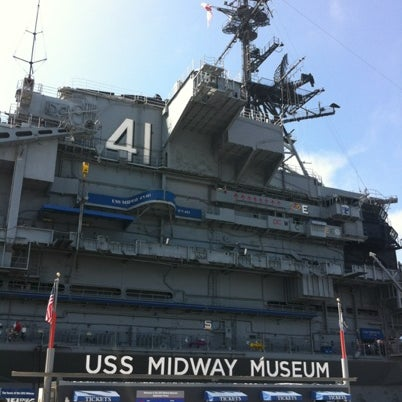 Photo taken at USS Midway Museum by J. M. on 8/29/2012