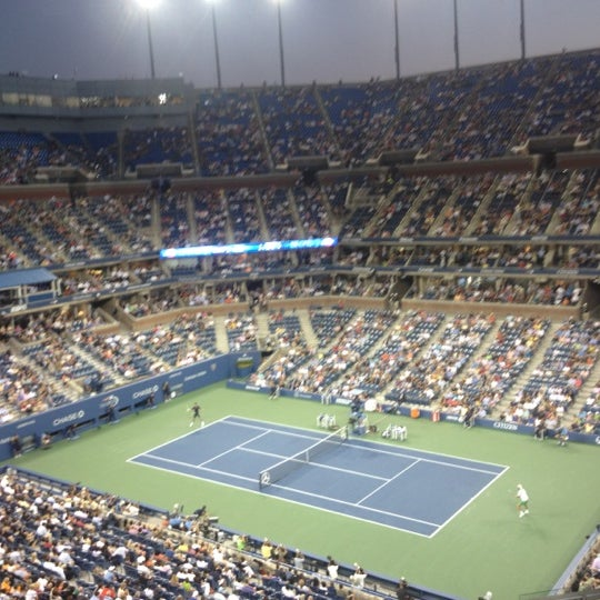 Photo taken at US Open Tennis Championships by Keith N. on 8/28/2012