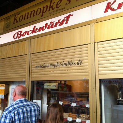 Photo taken at Konnopke's Imbiß by Janislav M. on 8/17/2012