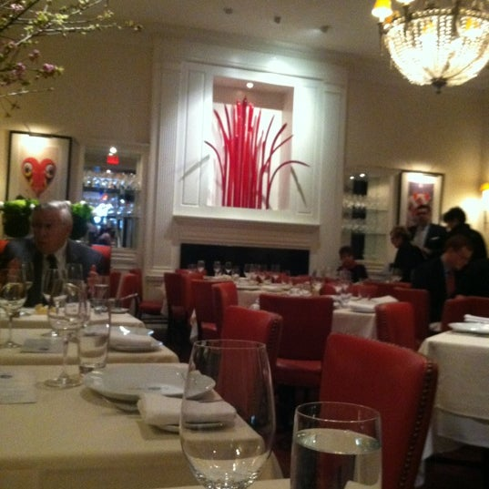 Photo taken at David Burke Townhouse by Matt B. on 4/26/2012
