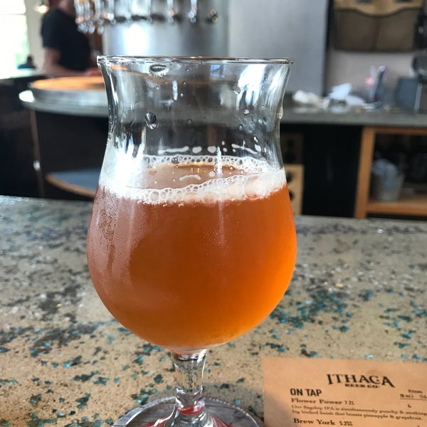 Photo taken at Ithaca Beer Co. Taproom by Geneo on 8/11/2018