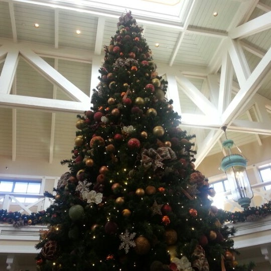 Photo taken at Disney's Port Orleans Riverside Resort by Kristin T. on 1/2/2013