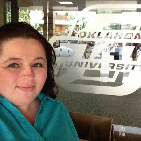 Photo taken at Oklahoma State University - Tulsa (OSU-Tulsa) by Nina B. on 8/20/2013