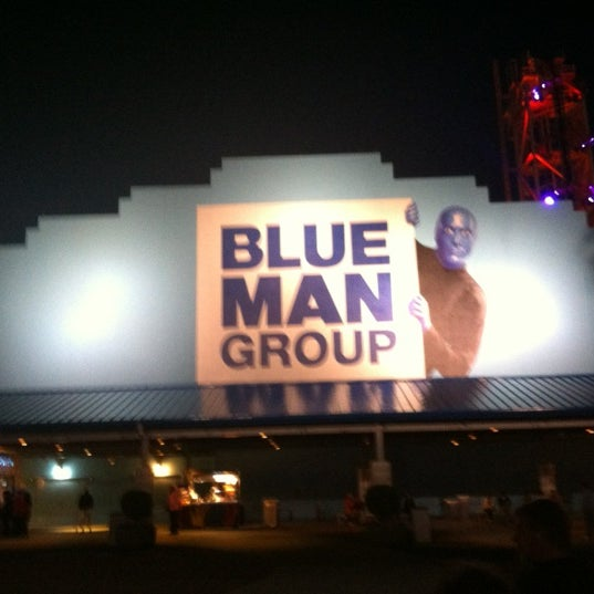 Photo taken at Blue Man Group at Universal CityWalk by Sean M. on 11/22/2012