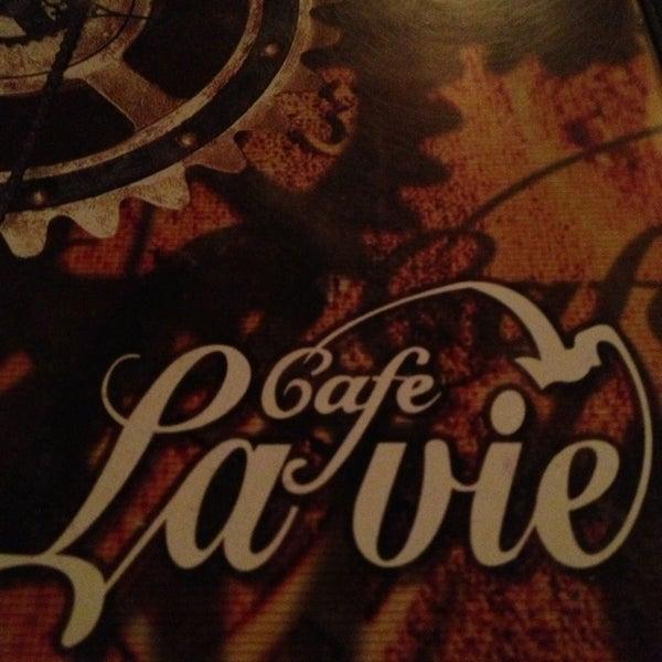 Photo taken at Cafe La Vie by Nilüfer K. on 5/25/2013