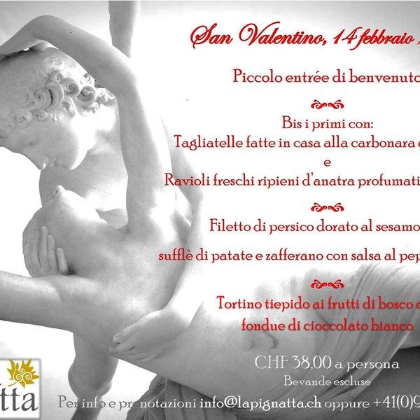 San Valentino alla Locanda La Pignatta ♡ :-)