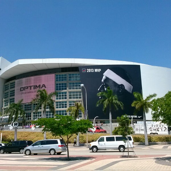 Photo taken at American Airlines Arena by Christian B. on 5/22/2013