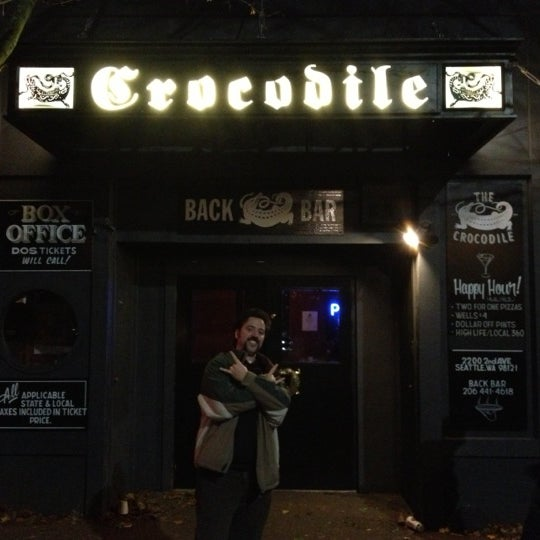 Photo taken at The Crocodile by Oscar B. on 11/7/2012