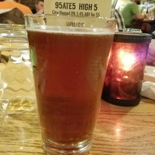 Photo taken at 95ate5 Brew Pub by Jim P. on 3/18/2017