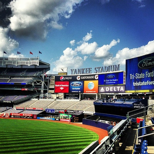 Photo taken at Yankee Stadium by Michael Z. on 7/14/2013