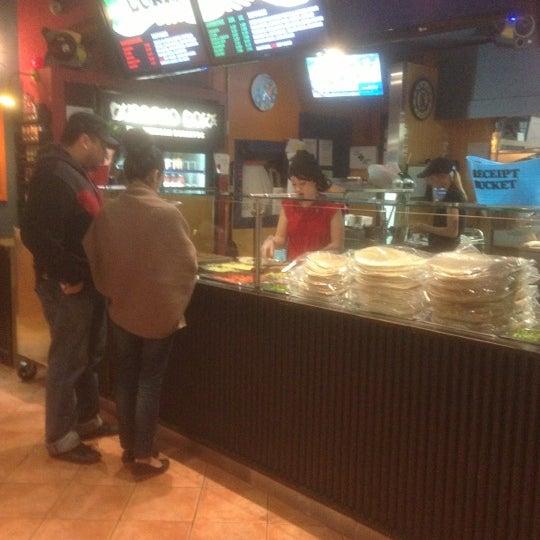 Photo taken at Burrito Boyz by Kevin T. on 11/22/2012