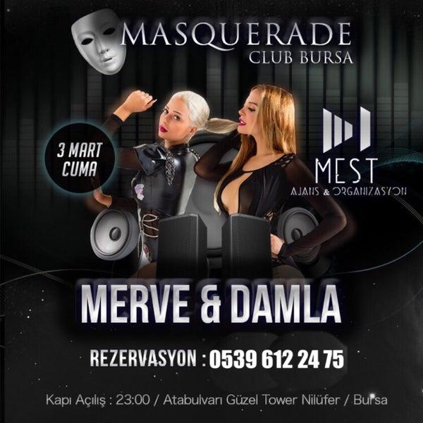 3/3/2017 tarihinde Masquerade C.ziyaretçi tarafından Mimoza'de çekilen fotoğraf