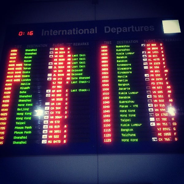Photo taken at Tan Son Nhat International Airport (SGN) by mheeng on 7/26/2013