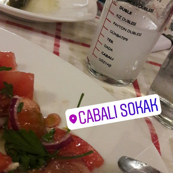 Photo taken at Cabalı Meyhane by Nazli U. on 9/5/2017