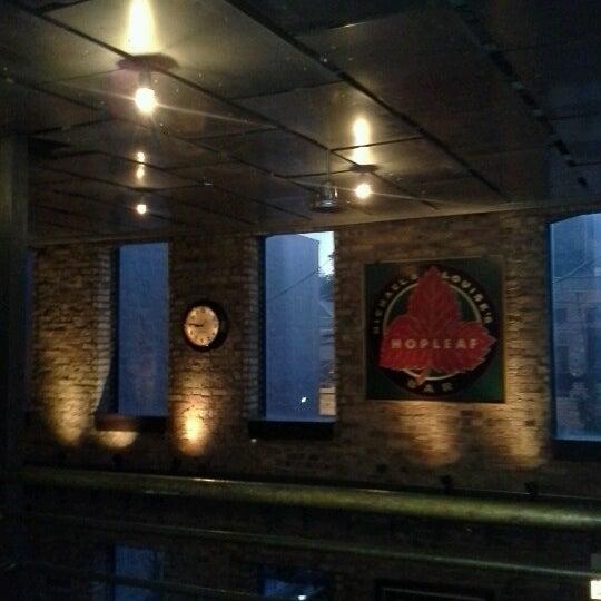 Photo taken at Hopleaf Bar by Joe E. on 6/14/2013