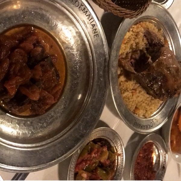 10/18/2017 tarihinde Tuğba G.ziyaretçi tarafından Lokmahane Restaurant'de çekilen fotoğraf