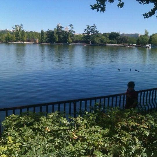 Photo taken at Lago de la Casa de Campo by jaime e. on 9/15/2012