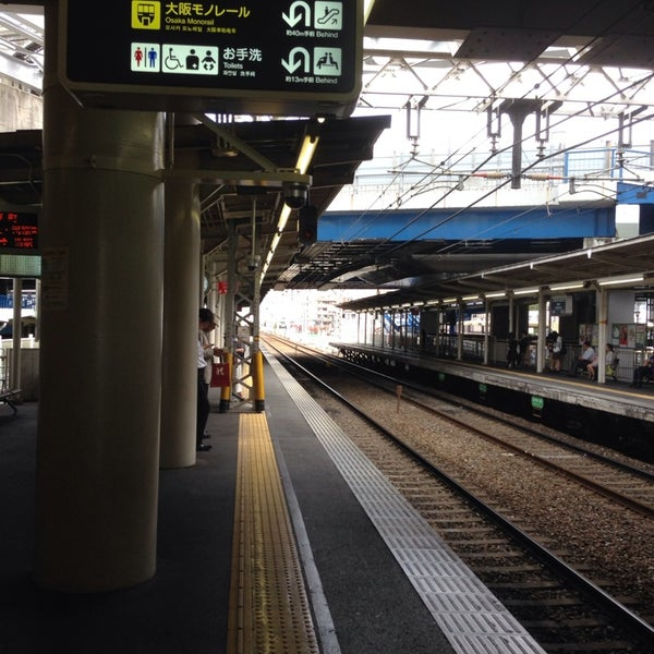 Photo taken at Hankyu Minami-ibaraki Station (HK68) by Jun N. on 10/22/2013