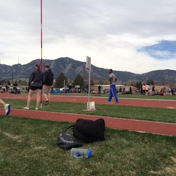Photo taken at Potts Field by Chris C. on 4/12/2014