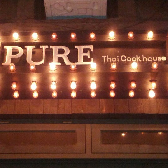 Foto tomada en Pure Thai Cookhouse por Kaufman N. el 10/25/2012
