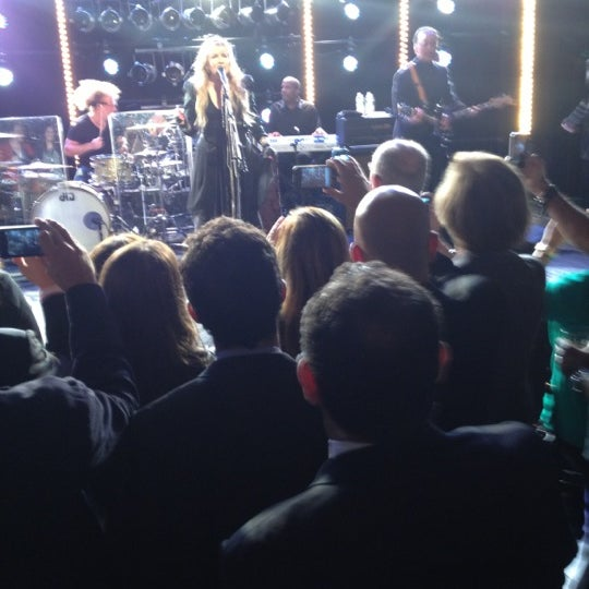 Photo taken at iHeartRadio Theater by Steven R. on 10/4/2012