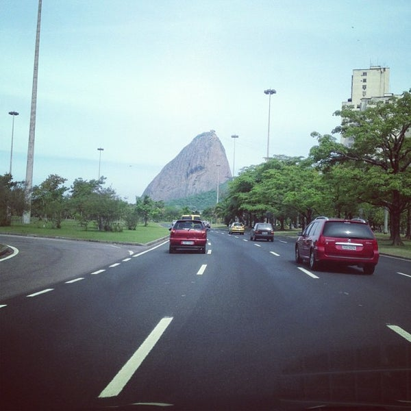 Photo taken at Flamengo Park by Roberto M. on 10/20/2012
