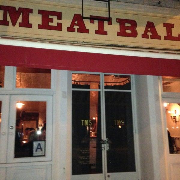Photo prise au The Meatball Shop par Boon Y. le4/22/2013