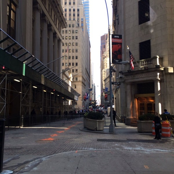 Photo taken at NYSE Euronext by Joyce S. on 3/14/2014