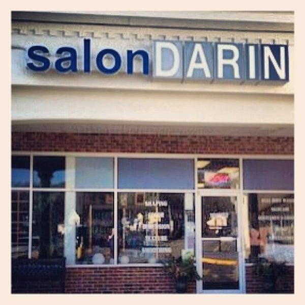 Photo taken at Salon DARIN by Donna M. on 2/4/2013