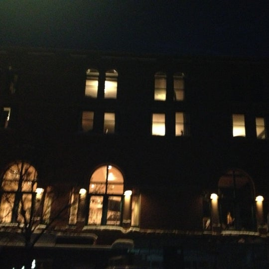 Photo taken at Hotel Jerome by James I. on 12/12/2012