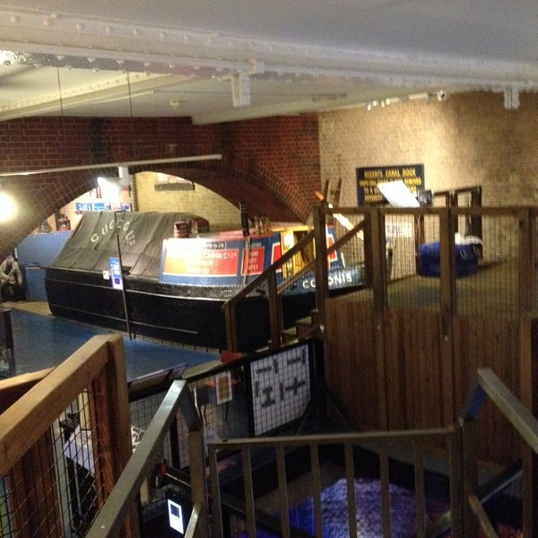 Photo taken at London Canal Museum by paul d. on 11/7/2013