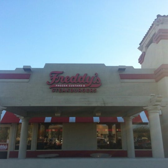 Photo taken at Freddy's Frozen Custard and Steakburgers by Norm S. on 2/4/2013