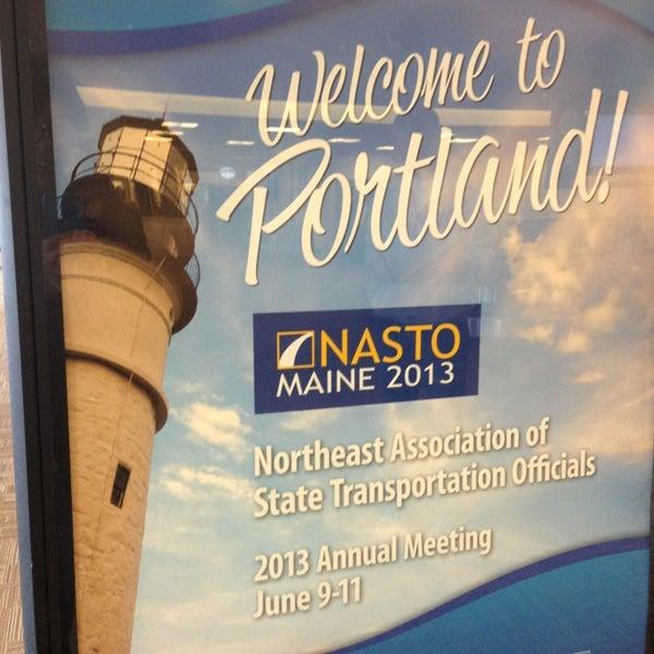 Photo taken at Portland International Jetport (PWM) by Jill H. on 6/8/2013