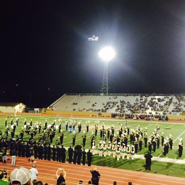 Photo taken at Harlandale Memorial Stadium by PEPC C. on 9/12/2015