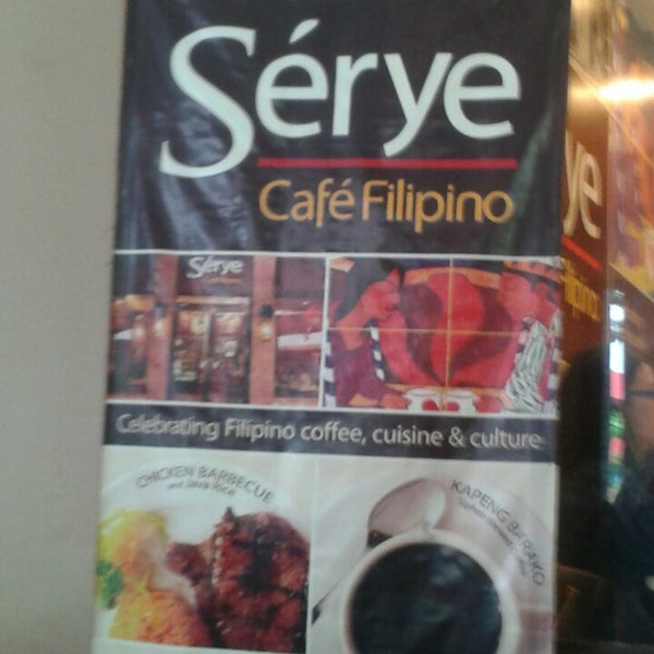 Photo taken at Sérye Café Filipino by Jeremiah L. on 6/16/2013