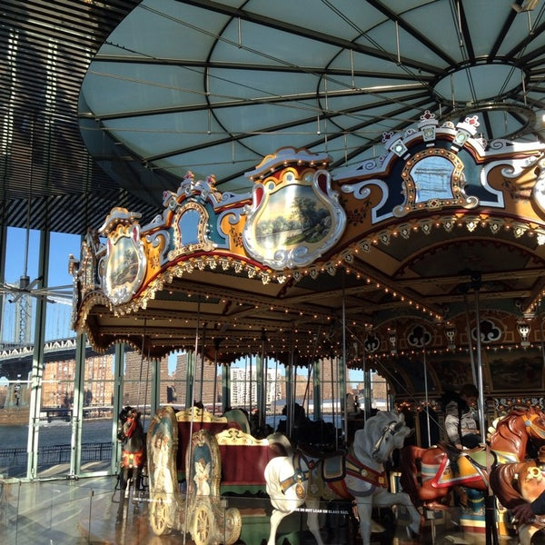 Photo taken at Jane's Carousel by Teresa L. on 11/28/2013