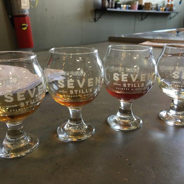 Photo taken at Seven Stills Brewery & Distillery by Lars H. on 5/28/2016