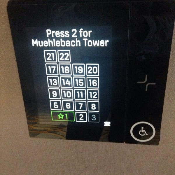 Photo taken at Marriott Muehlebach Tower by Benjamin N. on 9/22/2015