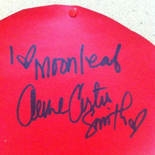 Photo taken at Moonleaf Tea Shop by Maica Kicks V. on 2/15/2013