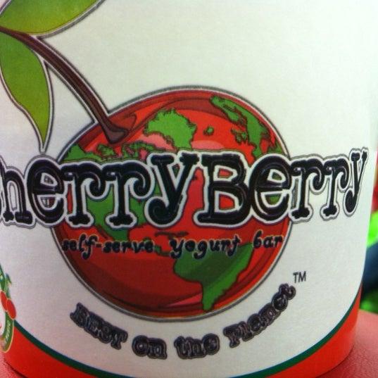 Photo taken at CherryBerry Yogurt Bar by Josh G. on 12/12/2012