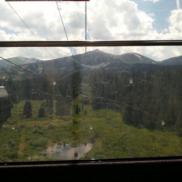 Photo taken at Breck Connect Gondola by Luke G. on 7/26/2013