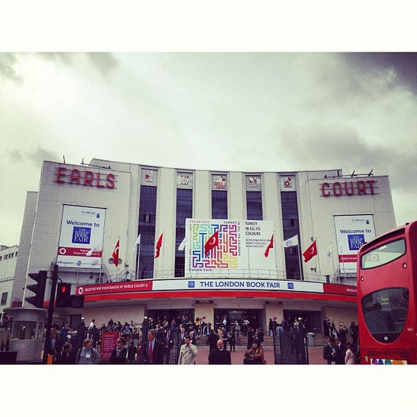 Photo taken at Earls Court Exhibition Centre by MaSovaida M. on 4/15/2013