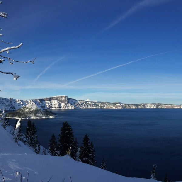 Photo taken at Crater Lake National Park by Noah B. on 12/3/2016